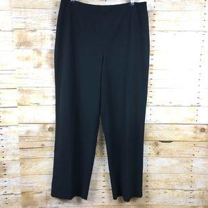 Talbots Black Stretch Career Pants Sz 16